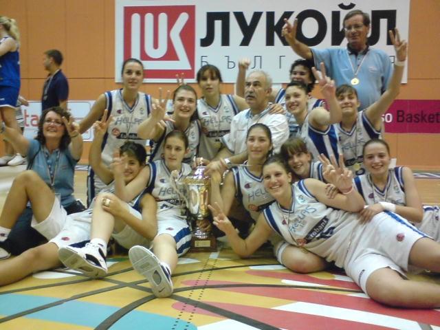 Πρωταθλήτρια Ευρώπης η Ανθή !!!