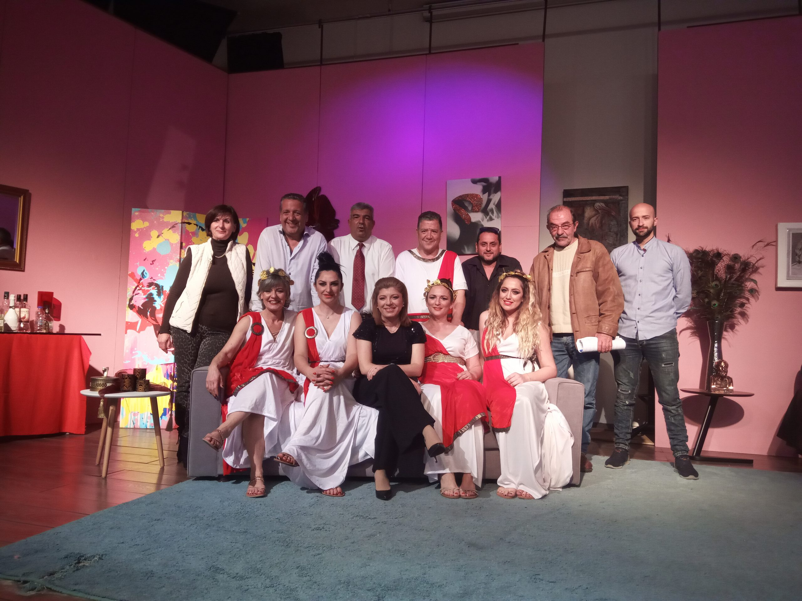 Θεατρική παράσταση - ΟΙΚΟΣ ΕΝΟΧΗΣ 22-24 -03-2019
