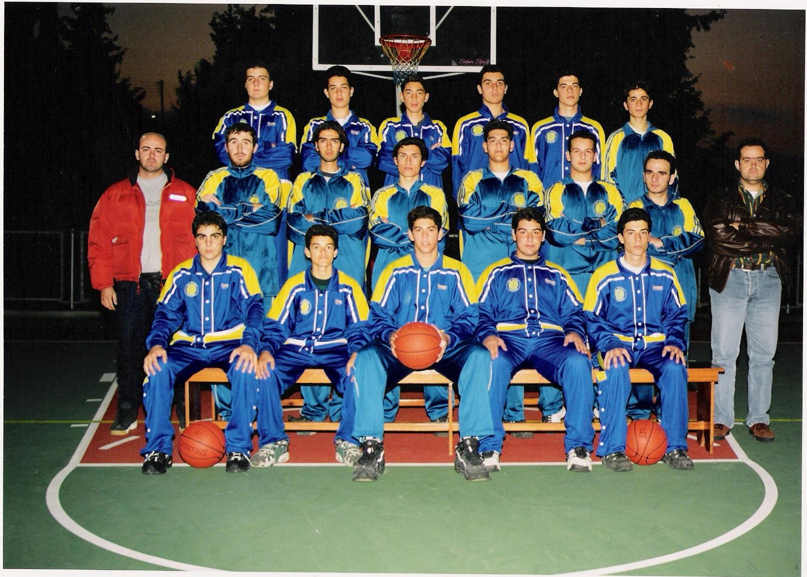 Έτος 1995 ΑΕ ΠΥΛΙΟΥ «ΧΑΡΜΥΛΟΣ», πρώτη ανδρική ομάδα 1995-96